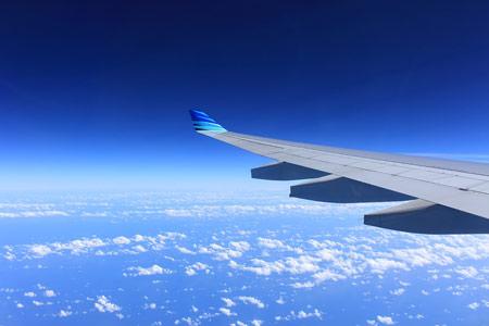 viaje en avión con-bebe